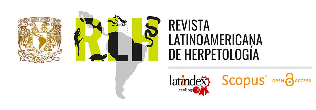 Revista Latinoamericana de Herpetología